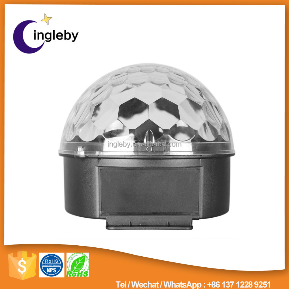 RGB led light magic spinning ball ktv light