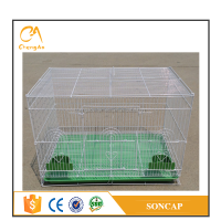 Low carbon steel wire galvanized chinese animal bird cage for live canary birds