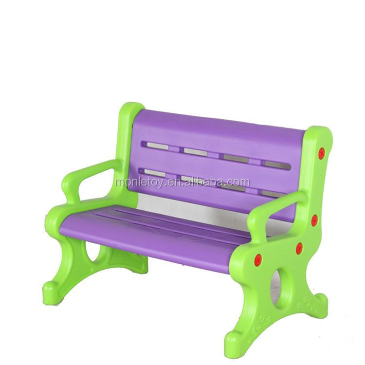 New or used kindergarten furniture baby chair plastic material china supplier chairs kids bench