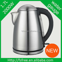 2014 Latest China Home Appliance Best Electric Water Kettle Stainless Steel
