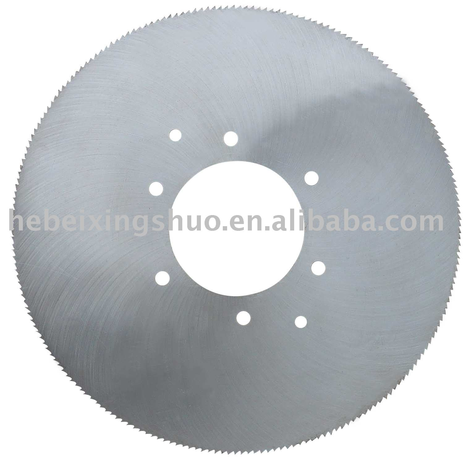 Metal hot cutting saw blades