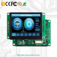 7 inch serial touch screen with TFT panel display for latest HMI control terminal
