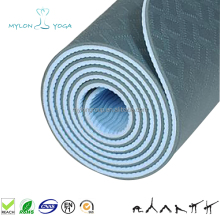High quality 100% eco-friendly double side TPE yoga mat