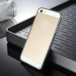 for iphone5 5s plastic frame bumper with diamond