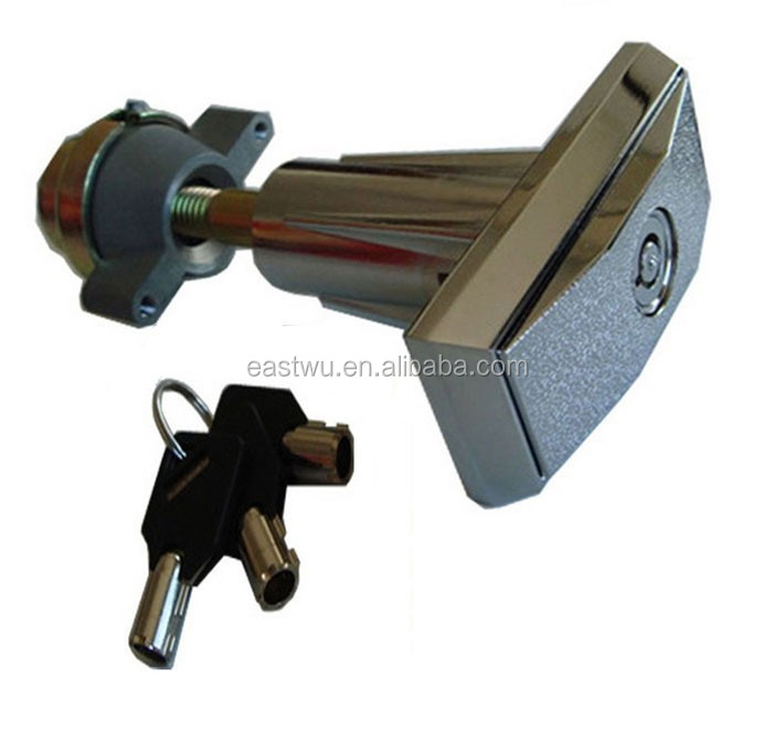 V09-68.5-Z-P Security pop out t-handle vending machine lock
