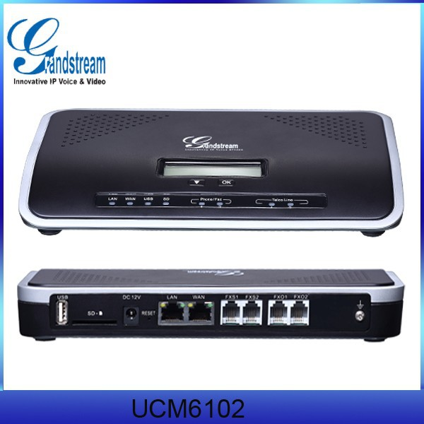 Grandstream UCM6100 VOIP Gateway Router GSM PBX System