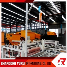 leading gypsum ceiling board production line/decoration gypsum ceiling board equipment