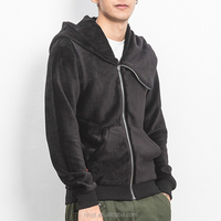 fashion fleece zip up hoodies