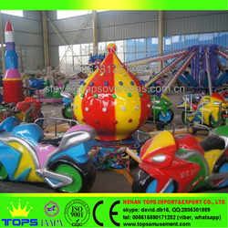 HENAN TOPS Amusement park motorcycle race rides kids amusement rides for sale