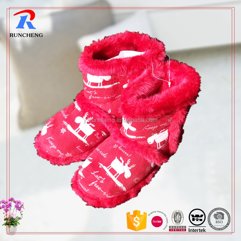comfortable cute indoor women boots