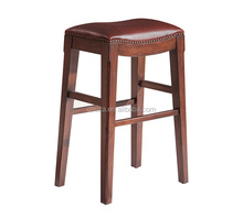 F50363A-1high quality bar stool with leather parts vintage bar stool bar chair
