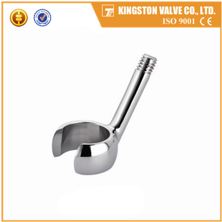 K624 Brass polishing shower head holder chrome plated brass sanitary accessories Yuhuan factory