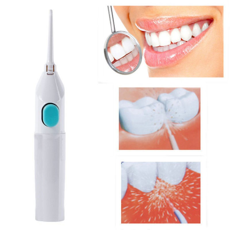 Portable Floss Dental Water Jet Cords Tooth No Batteries Power Dental Cleaning Whitening Teeth Cleaner Kit T-449