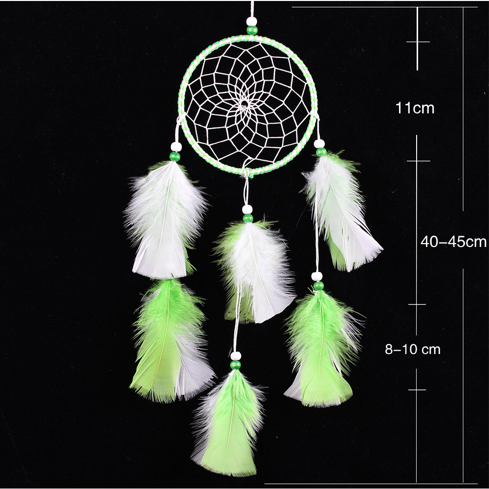 wholesale indian feather pendant Christmas wall hanging gifts dream catcher home decoration