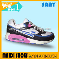 Customer's OEM&ODM Women Best Travel Air Running Shoes with Flexible PU Outsole for Wholesale Made in China