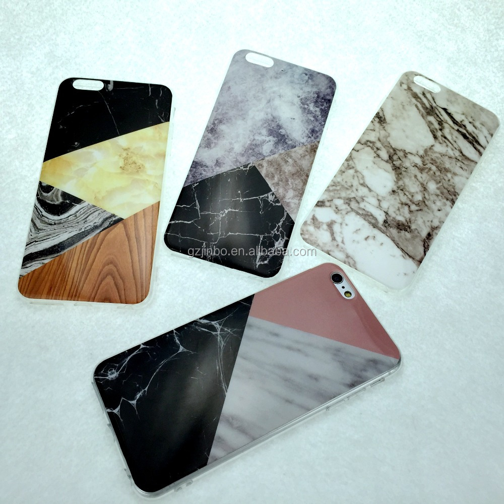 2016 trending products color changing marble for iphone 7 case Imd Tpu for iphone 7 case marble
