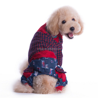 Winter cotton-padded clothes pet dog clothes Hi pat products recommended fashionable neutral Dog jacket dog coat