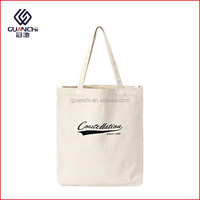 Promotional Eco Friendly Washable Blank Natural Cotton Canvas Tote Bags