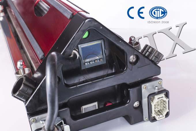 2015 COMIX 300mm PVC PU rubber vulcanizing machine/plate vulcanizing press