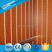 Grooved Noise Reduction Board Interior Decorative Acoustic Room Divider