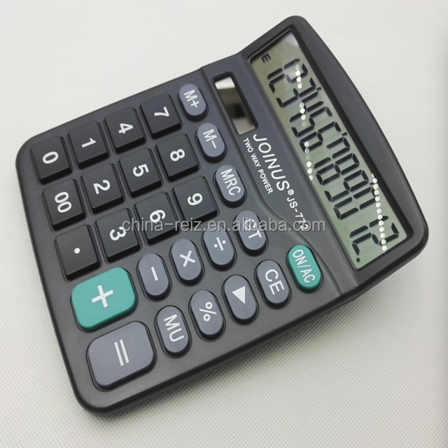 2018 calculator with solar cell