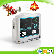 Medical Multi-parameter Touch Screen Bedside Patient Monitor