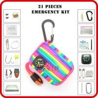 outdoor camping emergency disaster survival kit list