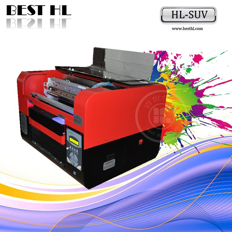 A3 Automatic Grade digital uv flatbed printer price for all media