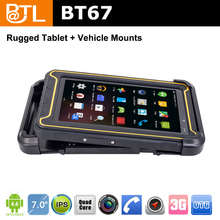 TOC1927 BATL BT67 3g gps glonass android black vehicle cradle for 7inch waterproof tablet