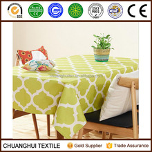new arrival modern style cotton linen geometric printed table cloth