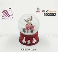 New Product Resin Snow Globe Resin