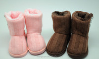 high quality cute cashmere kid snow boot