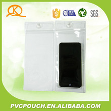 2017 China clear PVC ziplock bag for iPhone / for iPod Touch / for Samsung