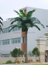 Hig imitation artificial coconut tree /fake/plastic coconut tree for decoration and landscaping