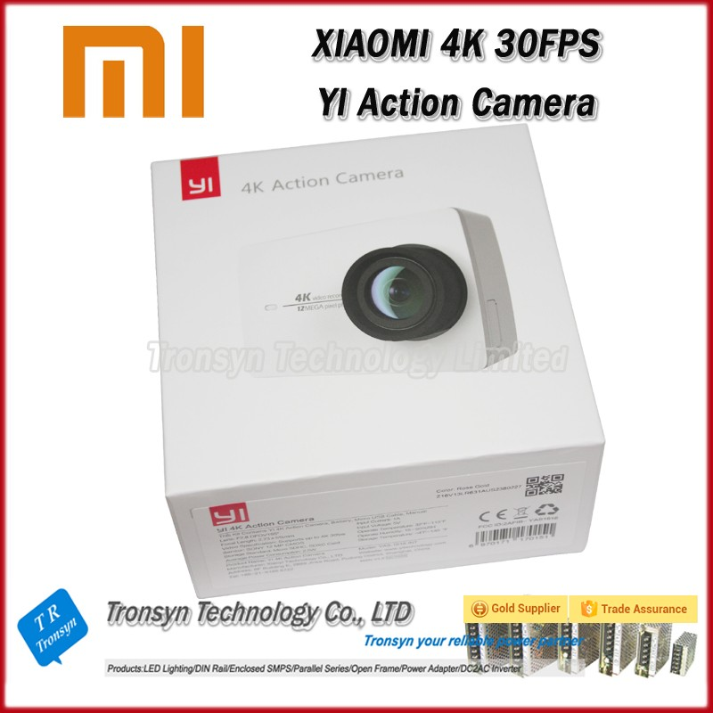 "Original Ambarella A9SE Xiaoyi Sports Camera II XiaoYI 4K Action Camera 2 2.19"" 155 Degree 12.0MP CMOS International Version"