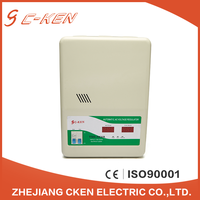 TSD 5KVA Single Phase Intelligent Wall mounted Voltage Stabilizers , 5000V AC Automatic Voltage Stabilizers