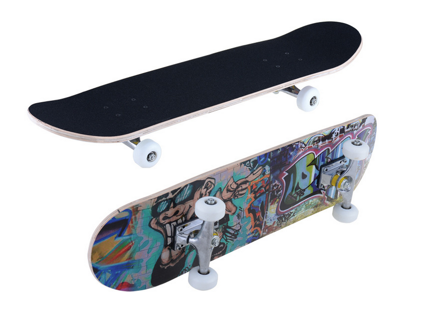Four-Wheel Street OEM Sport Longboard 22 Inch Wooden Skateboard For Adults
