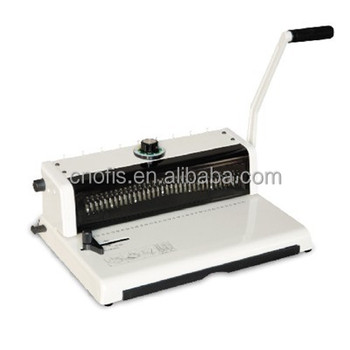 OFIS T598 wire binding machine,wire book binder