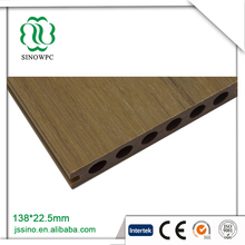 Vivid and beautiful co extrusion modular floor wpc decking