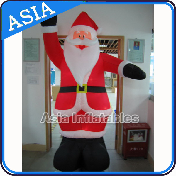 2016 China Wholesale Top Level Factory Price Helium Santa Inflatable
