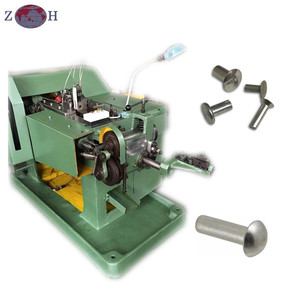 Automatic Solid|hollow Rivet Making Machine| rivet cold heading machine