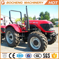 China Tractors for Sale Agricultural Machinery YTO 110HP 4WD Farm Tractors Made in China