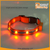 2015 best selling new products jewel dog collar TZ-PET1002 illuminated pet collar