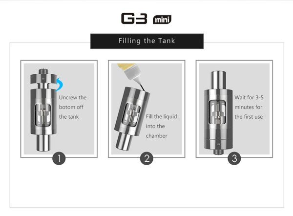 900mAh Low Ristance Lss G3 Mini Vapor Kit best e cigarette starter kits
