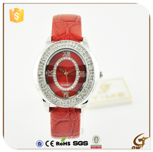 Hot selling Alloy Watches With Diamond Bling Crystal Women and Girls