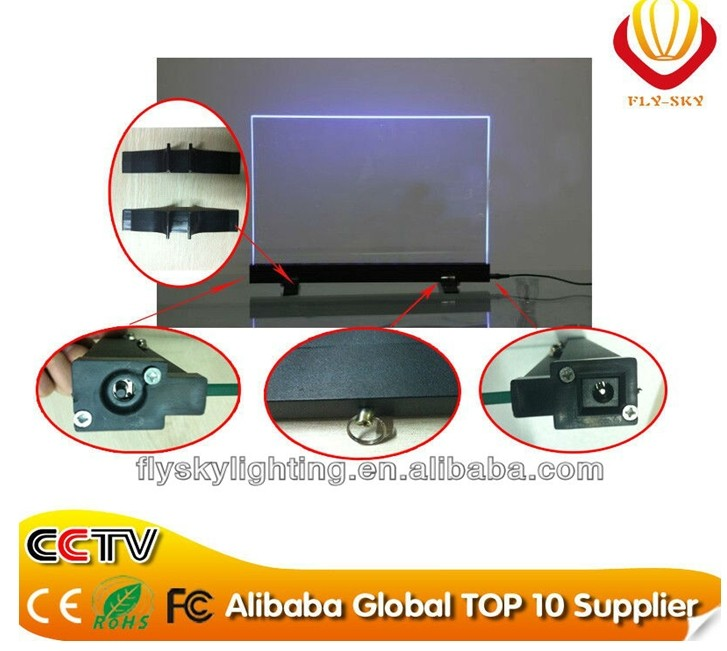2016 alibaba express & best seller desktop led writing board for shops indoor advertising & promotion colorful shinning bright