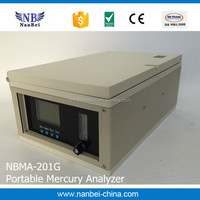 LCD Dispaly Mercury Hg Analyzer For