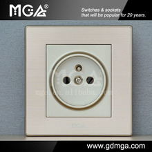 MGA Q7L Series new design socket&french type wall socket&french socket outlet