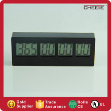 9 Digits Electronic Countdown Timer LCD Table Clock Decor Clock
