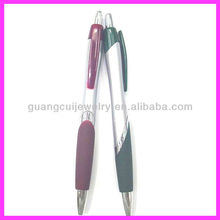 fashion plastic red and green ball pen toppers as gift